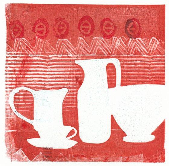 Monoprint - Still life no. 18