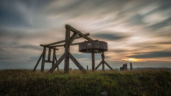 Magpie Mine Sunset - Limited Edition Print