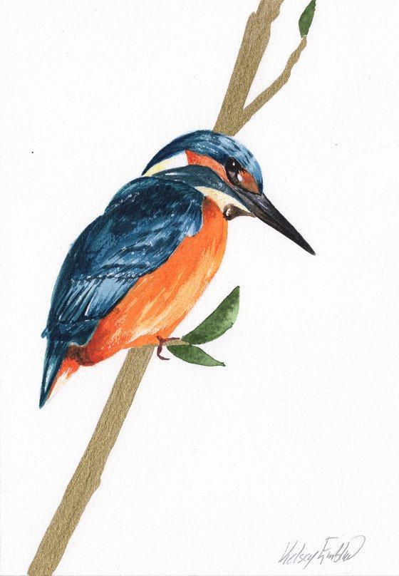Kingfisher Watercolour