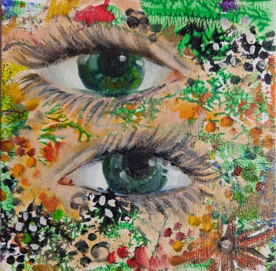 Eyes #2 (10x10cm)