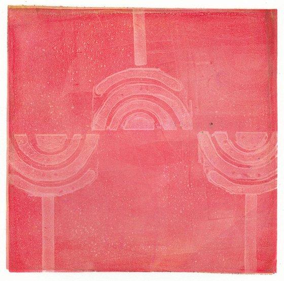 Monoprint - Grafic Patterns no.28