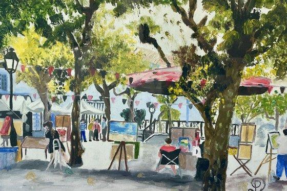 Saint jean de luz Place Louis  14