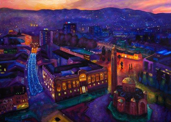 Night City of Banja Luka