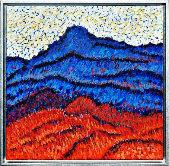 Blue Ridge Red Mountain