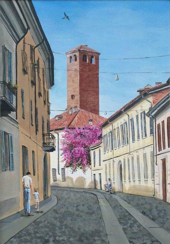 Via Pasquale Massacra, Pavia (IT)