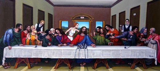 """The Last Supper - Press Conference"""