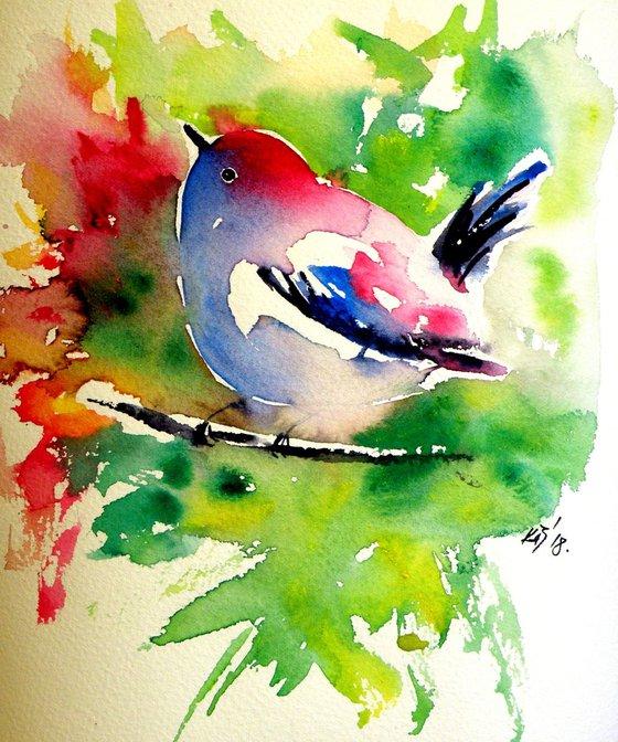 Cute little bird III- perfect gift idea
