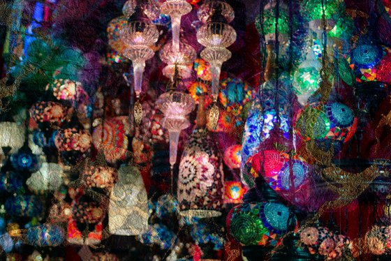 Magic lights in Istanbul II
