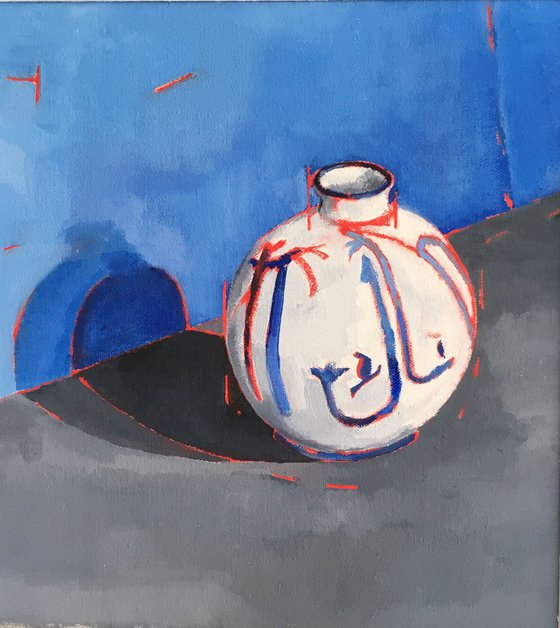 Round Specimen Vase