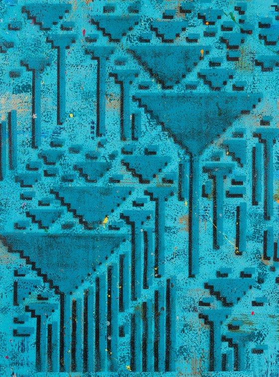 Turquoise Geo