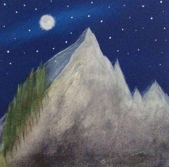 """""""Pointy Peaks"""" Miniature Size 15x15x1cm"""