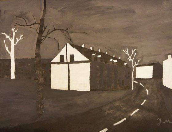 Painting | Acrylic | House
