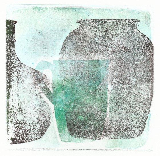 Monoprint - Still life no. 20
