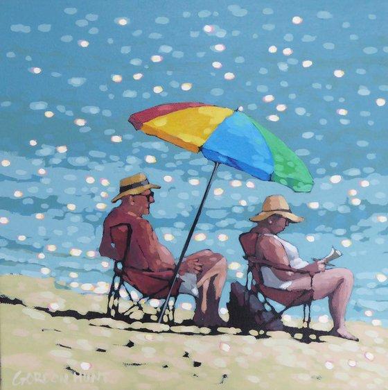 Nan & Grandpa - a day by the sea