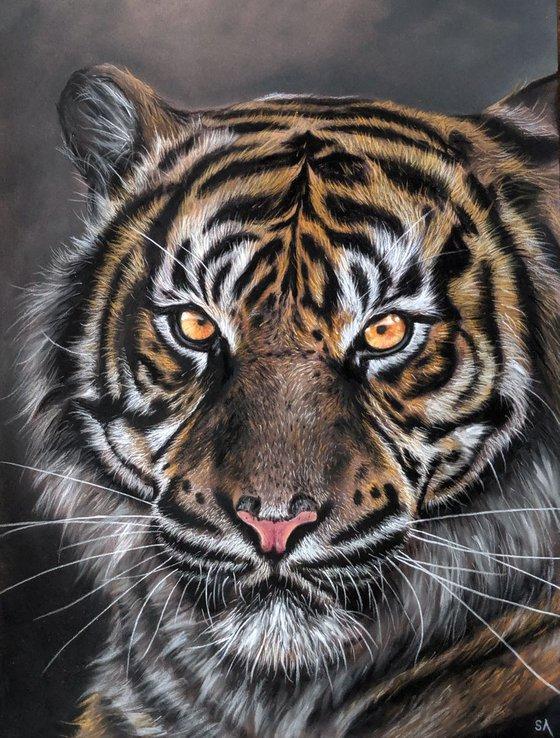 TIGER I (Original Painting)