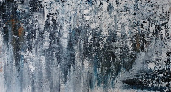 Abstract,black,white,christmas sale 550 USD now 445 USD.