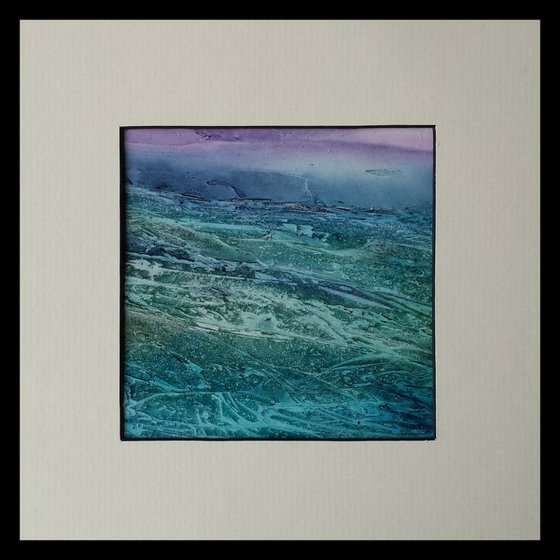 Wild Seas, abstract painting
