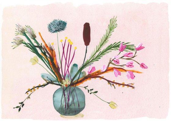 Floral vase party 2