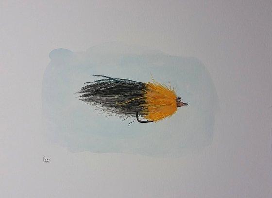 "Fishing - Flies - Wildlife - ""Snoke"""