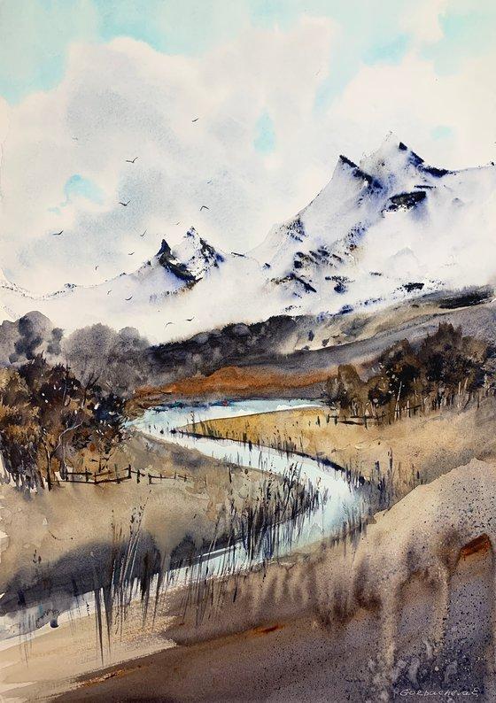 Mountain river #7