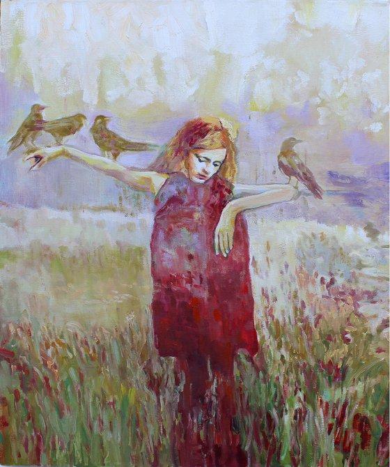 Scarecrow girl