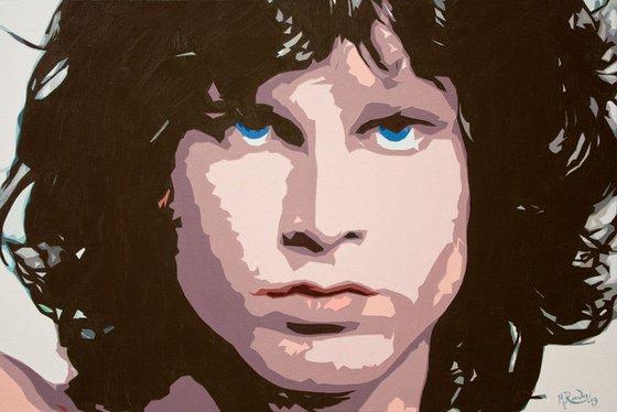 Portrait of Jim Morrison - Light My Fire