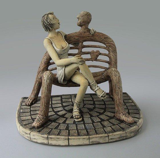 Ceramic | Sculpture | Bench