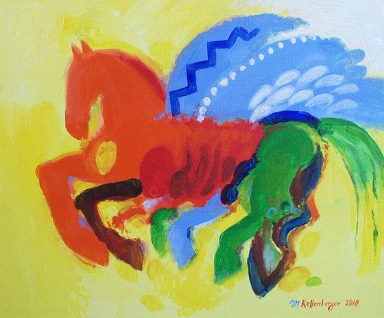 Pegasus for Vincent (van Gogh)