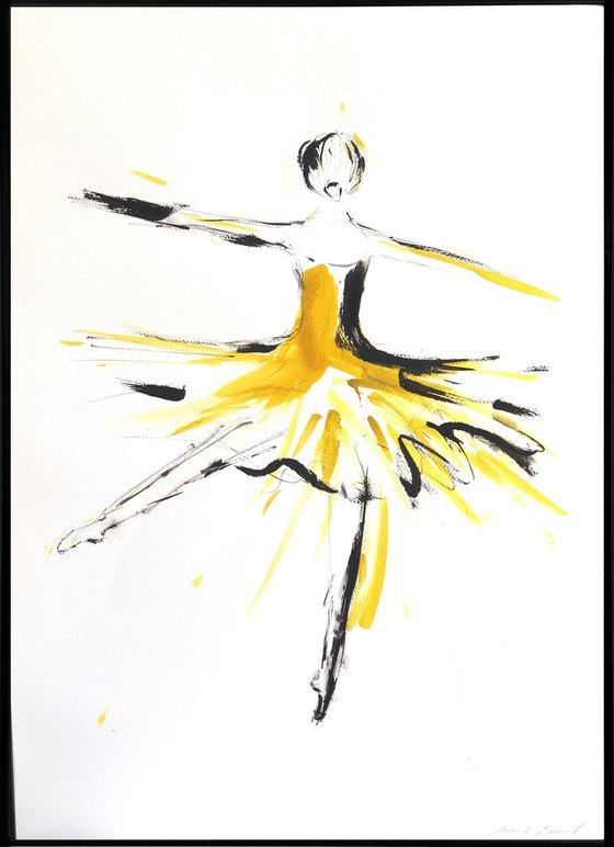Golden dancer II