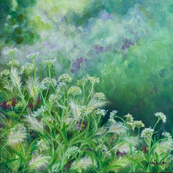 Solice- Garden painting