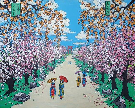 japanese blossom park