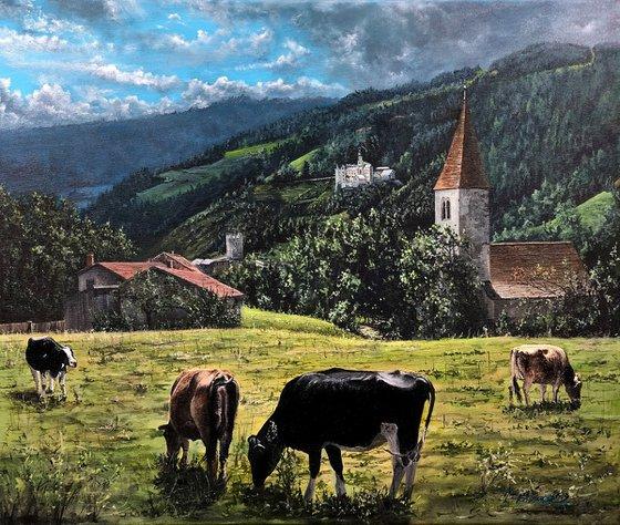 """""""Alpine landscape"""""""
