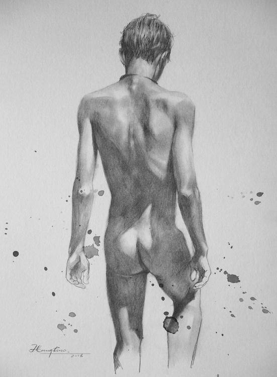 nude boy art