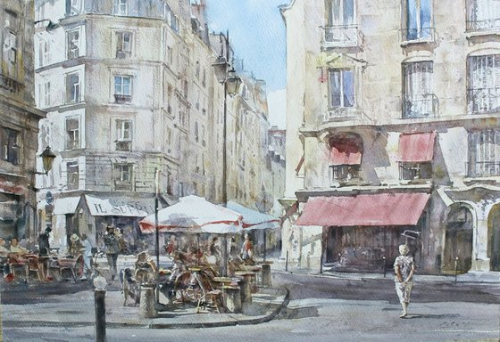 Paris Sun (42x29 cm)