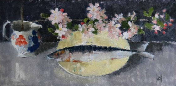 Blossom with Fish