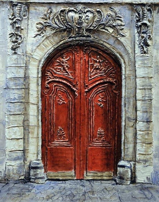 Parisian Door No. 126