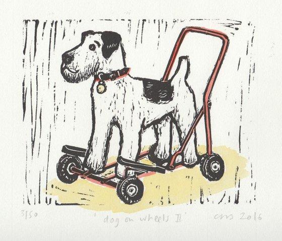 Dog on Wheels II