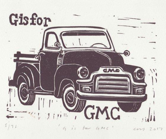 G is for GMC van