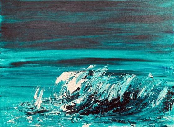 Stormy Waters - Ocean Wave