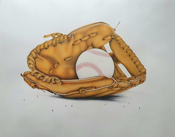 Hey Batter Batter Batter: Baseball Mitt