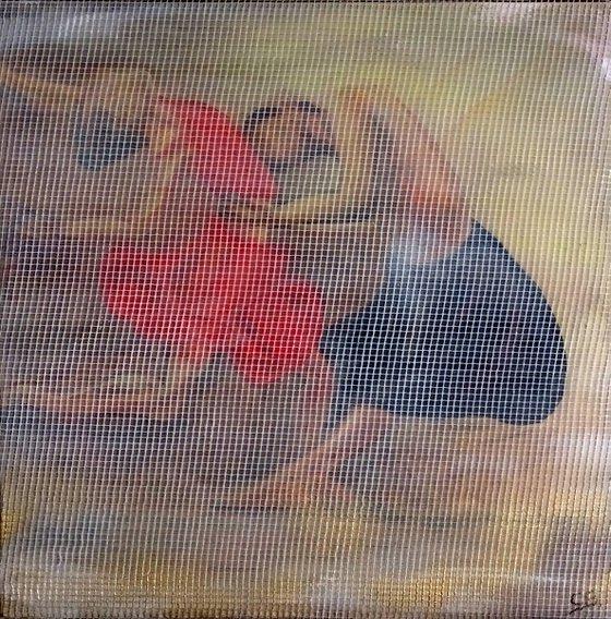 Bolero dancers (framed artwork)