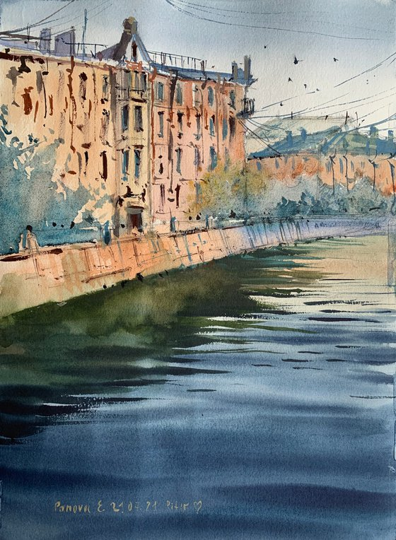 The romance of the channels of St. Petersburg