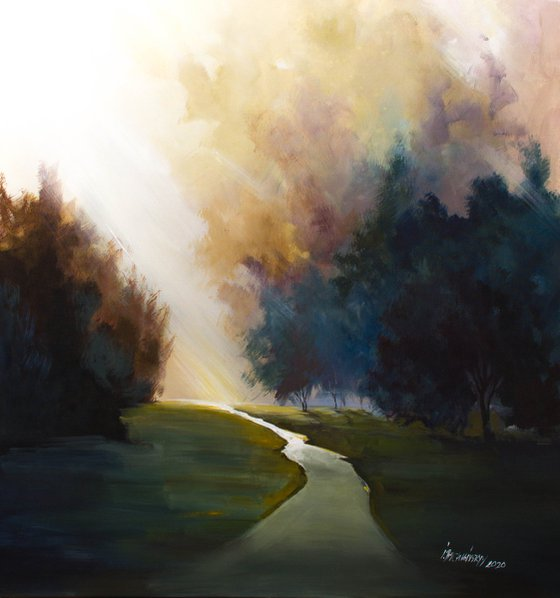 """""""A breath of the morning shadows"""" (2020)"""