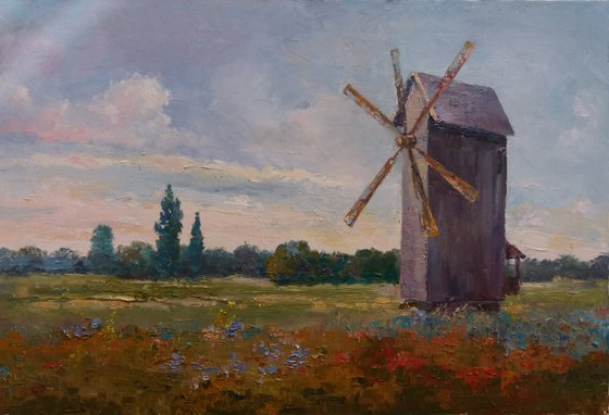 Wooden Mill
