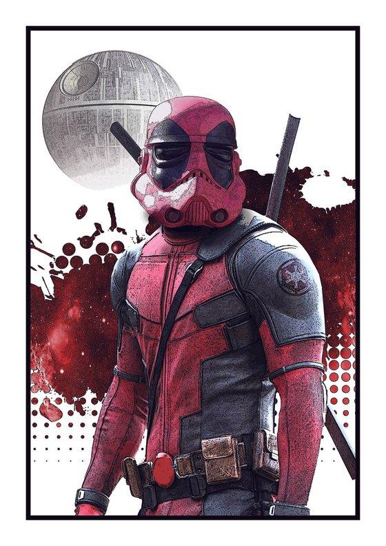 if the empire won... Deadpool trooper