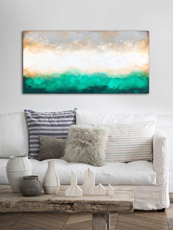 green landscape  (140 x 70 cm) Dee Brown
