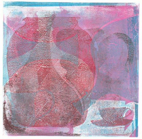 Monoprint - Still life no. 12