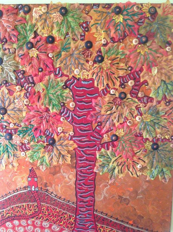 Beneath The Autumn Tree
