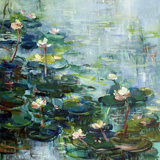 The water lily pond I