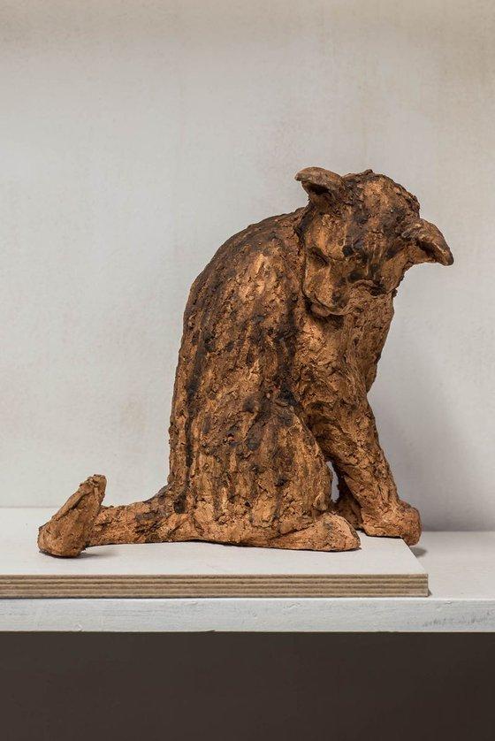Ceramic | Sculpture | Cat Breone